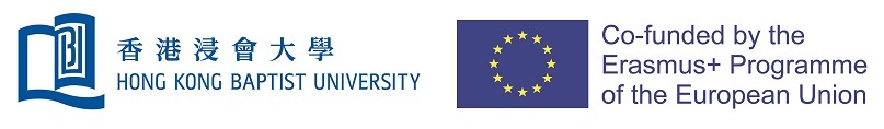 HKBU and Erasmus+ EU logos