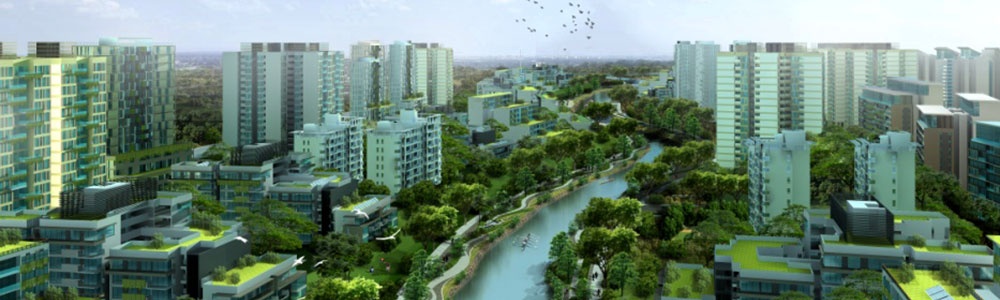 Green City design courtesy of Building Designers Association of Australia - BDAA.com