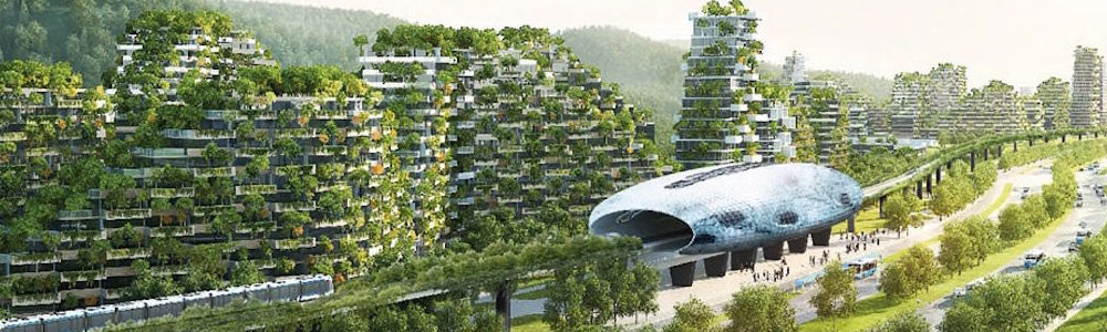 Forest City design by Stefano Boeri Architetti